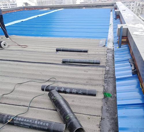 兰州彩钢屋面防水