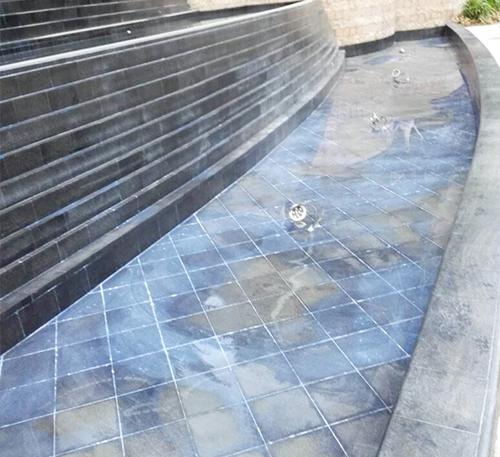 景观喷泉水池防水