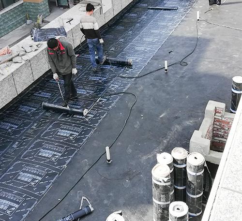 小区防水工程施工